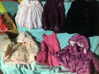 Big bundle baby girl clothes 6 - 12 months most new or nearly new