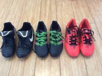 3 pairs for sale, both Adidas size 4.5 and Nike size 4