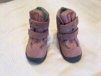 Pax pink winter boots - waterproof