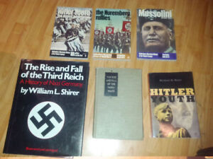 The Rise & Fall of The Third Reich, Mussolini, Hitler Youth more