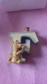 Winnie the Pooh letter F BNIB