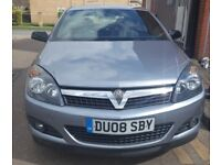 2008 VAUXHALL ASTRA SRI 3DR, SPORT HATCHBACK, WITH SPORT BUTTON AND 83K MILES