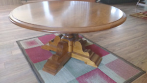 Vilas Maple Round Coffee Table