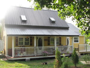 REDUCED !!Cozy Riverfront Home/Barn/Shop/ 6 acres  Tatamagouche