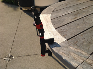 Joby Clamping Mount and Locking Arm / GoPro clamping mount