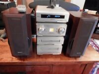 Technics Hifi System With Speaker ST-HD560 SE-HD560 SL-HD560 RS-HD560 Good Condition Fully Working