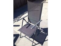 ( New with tag ) Tesco Seville Reclining Garden Chair