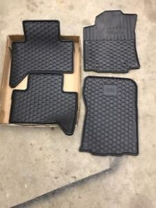 Toyota all weather matts for a 2016+ Tacoma