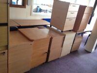 Wood Storage & Filing Cabinets