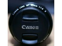 Canon EF 50mm f1.8 (ll)