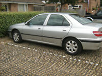 Peugeot 406 Executive Turbo 2.0 petrol saloon,1997 p reg , silver. mot nov,one owner 2004 to 2017