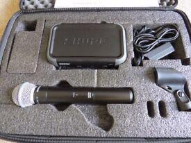 Shure SM58 Beta Wireless Mic System / PGX4 Wireless receiver & PGX2 transmitter