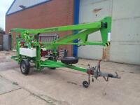 Niftylift 120 towable cherry picker