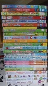 PRESCHOOL DVDS