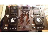 Tibo audio dj pro 2000 mixing decks