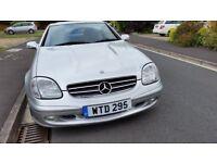 Mercedes SLK320 Nice reg . Full mercedes service history. original bill of sale