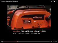 Wanted electric evolution hulk wacker plate or a petrol wacker plate