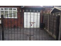 Spear top Iron gates