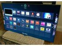 46in Samsung F7000 SMART 3D LED TV FREEVIEW/SAT HD WI-FI [NO STAND]