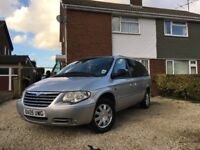 Chrysler Grand Voyager 2.8 CRD Limited XS - 5dr - 7 Seater - Silver - STO & GO