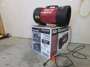 SHOP VAC PORTABLE AIR CLEANER FOR YOUR WORKSHOP