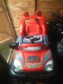 Boys battery operated jeep