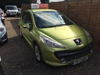 2007 07 REG - Peugeot 207 1.6 Automatic SE - FINANCE AVAILABLE FROM £17 P/W!