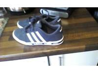 Blue Adidas trainers size 5 basically brand new only wore 3 times