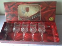 5 RCR Opera Crystal Wine Glasses