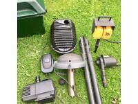 Fishing pond equipment