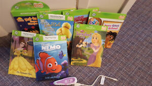 Leap frog reading pen and books