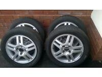 Ford Fiesta 2010 Alloy Wheels x 4