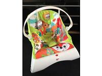 Fisher Price Woodland Friends Comfort Bouncer chair 👶🏻💚🦊