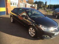 2007 Vauxhall Astra 1.4 3 door in metallic black 12 months mot/3 months parts and labour warranty
