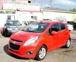 NO ACCIDENT!! 2013 CHEVROLET SPARK LT AUTO LOADED SPORTY HATCH..