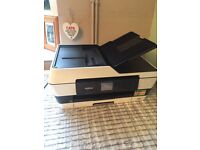A3 BROTHER pritner & scanner ONLY USED TWICE rrp £180 good condition