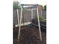 Plum Outdoor Swing