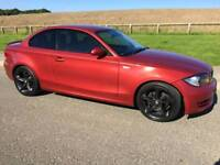 Bmw 123d se coupe full leather trim new clutch and timing belt