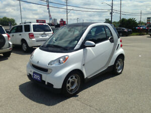 2012 Smart Fortwo Hatchback * LOW KILOMETERS * SAVE  MONEY NOW