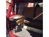 Selling my very reliable campervan. 94 Nissan Vanette