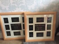 2 x multiple picture frame