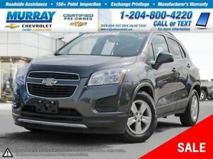 2013 Chevrolet Trax 1LT *Accident Free, OnStar, Satellite Radio*