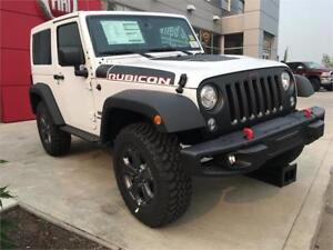 2017 JEEP WRANGLER RUBICON, LEATHER INTERIOR, SPECIAL EDITION !!