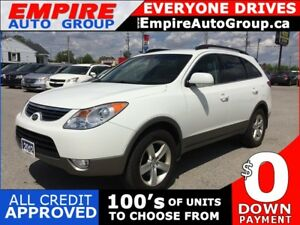 2012 HYUNDAI VERACRUZ LIMITED * AWD * LEATHER * SUNROOF * 7 PASS