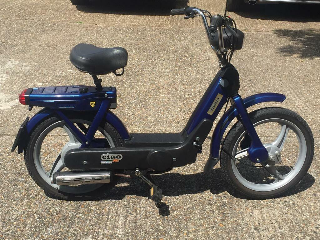 Piaggio Ciao Vespa Px 49cc Vintage Italian Moped Bicycle