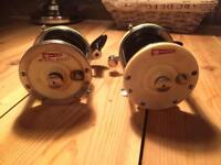Fishing reels - multipliers - Garcia Mitchell. Antique.