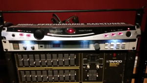 Rack tuner with lights