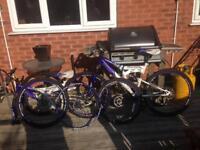 2x Dunlop. Men and women mountain bike