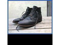 "Red Wing Men's 8061 Merchant boot 6"" size UK 11 colour: ebony"