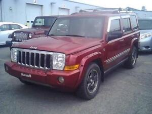 2006 Jeep Commander Limited 4x4 Full EQP Starter Jamais Accident